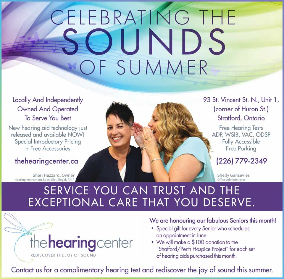 hearing center beacon herald june
