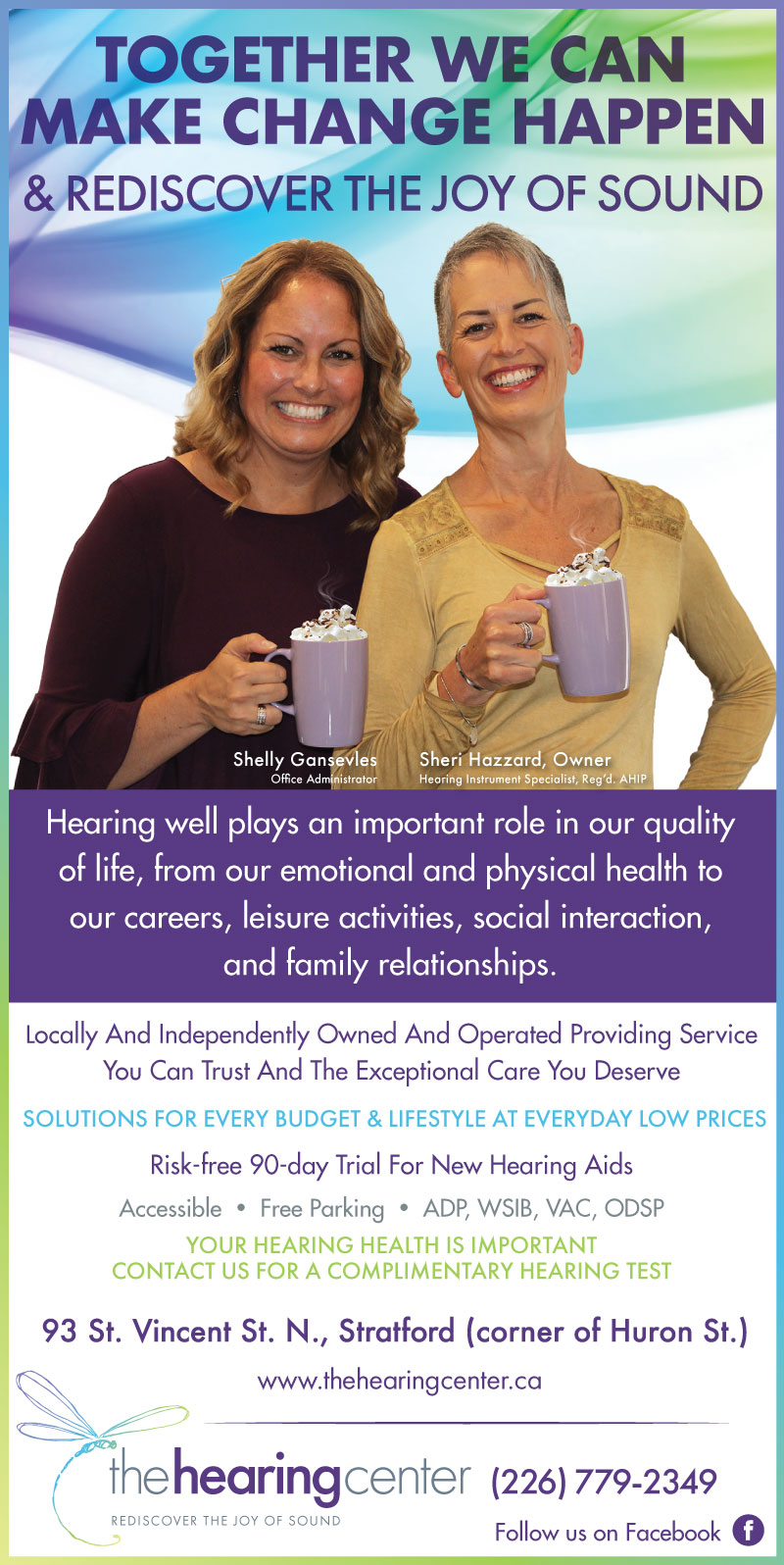 Hearing Health Ad October 2018